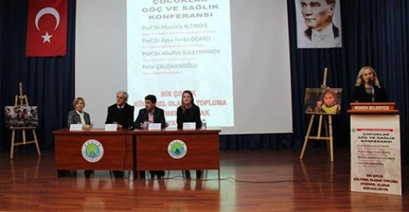 Çocuklar, Göç ve Sağlık Konferansı Yapıldı