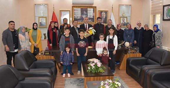 Çölyak Hastaları ve Ailelerinden Babaoğlu'na Ziyaret