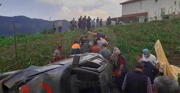 Dikmen'de Kaza 1 Ölü 1 Yaralı