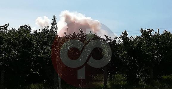 Patlama Sesleri Korkuya Neden Oldu