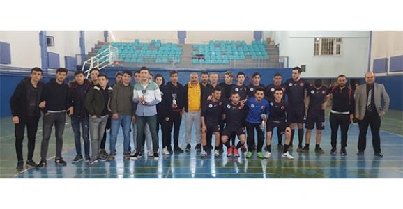 Hendek'te Futsal Sona Erdi