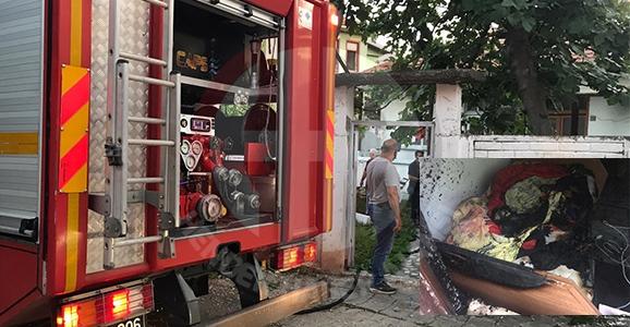 Hendek'te Yangın Korkuttu