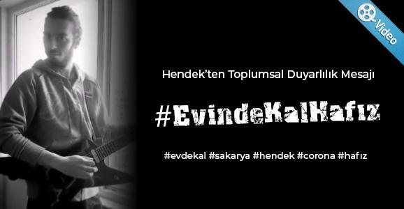 Hendek'ten #EvindeKalHafız Paylaşımı
