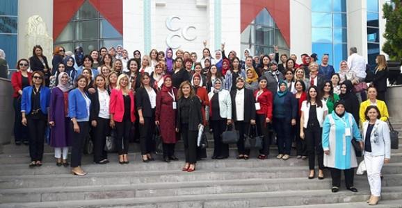 MHP Kadın Kolları Başkanı Gürbüz Ankara'da İstişare Toplantısına Katıldı