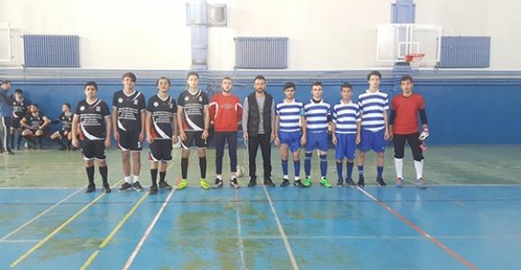 Genç ve Küçük Erkekler Futsal Müsabakaları Başladı