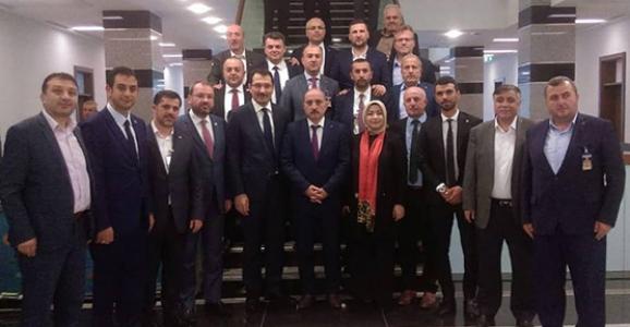 Sofu İlçe Başkanları İle Ankara'da
