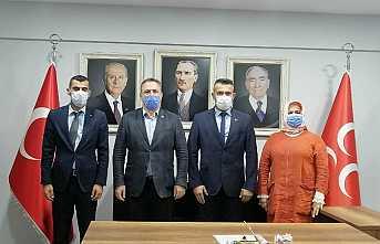 Ülkü Ocakları İl Başkanından Hendek Ziyareti