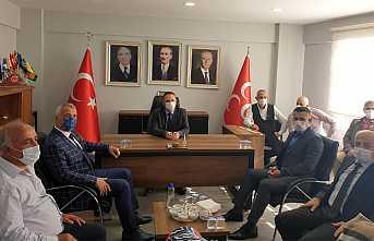 Babaoğlu'ndan MHP'ye Ziyaret