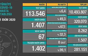 Can Kaybı 8262, Hasta Sayısı 320 Bin 70