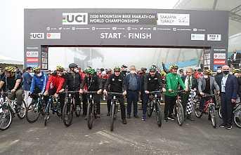 Dağ Bisikleti Şampiyonası Başladı