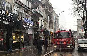 Parti Binasında Yangın