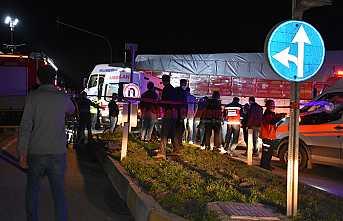 D-100'de Zincirleme Kaza 8 Yaralı