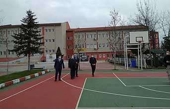 Kaymakam Acır Güçlendirme Yapılan Okulları Gezdi