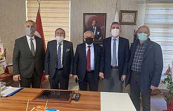 Bizim Turgut'dan, ASKF'ye hayırlı olsun ziyareti.