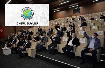 Meclis Toplantıları Ertelendi