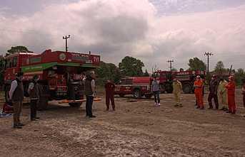 Kurtköy Orman Deposunda Yangın Tatbikatı Yapıldı