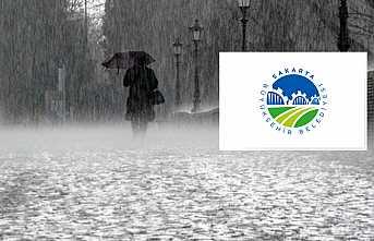 Büyükşehir'den Kuvvetli Yağış Ve Dolu Uyarısı