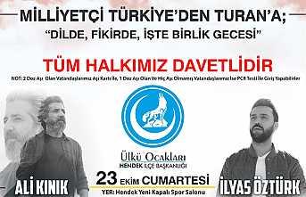 Ülkücüler Milliyetçi Türkiye'den Turan'a Gecesinde Buluşuyor