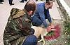 Hendek'te Şükür Kurbanı Kesildi