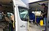 Servis Araçları ve Minibüsler Dezenfekte Edildi
