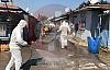 Turanlar Mahallesinde Dezenfekte Çalışması