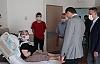 Yavuz Yaralıları Ziyaret Etti