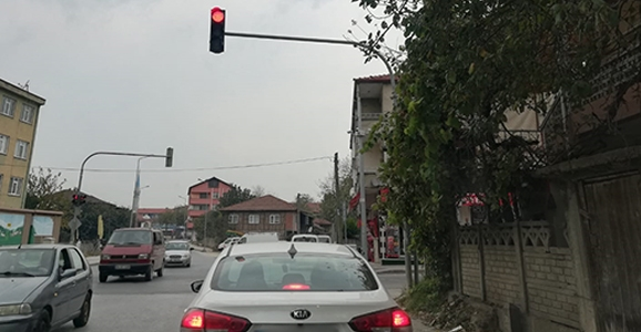 Trafik Lambası Görünmüyor