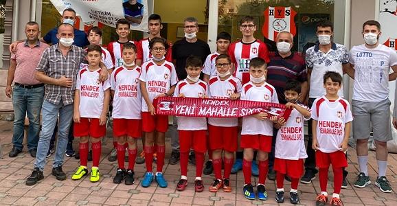 Yenimahallespor Yaz Futbol Okulu Başladı