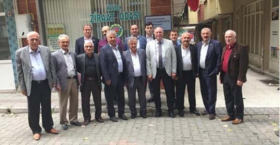Ziraat Odası Başkanları Hendek'te Bir Araya Geldi