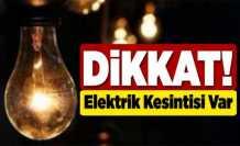 Hendek'te İki Mahallede Elektrik Kesintisi Yapılacak