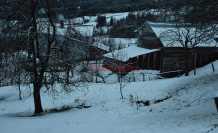 Dikmen 'de Kar Başladı