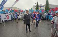 2'nci OSB'nin önünde eylem yaptılar