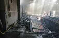 Boş Olan Fabrikada Yangın