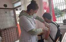 Hendek'te Aşı Çalışmaları Devam Ediyor