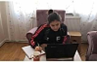 Şehit Mahmutbey'de Online LGS Denemesi