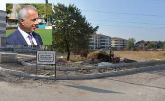 Alparslan Türkeş Parkında İlk Etap Başladı
