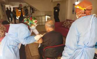 Huzurevlerinde Kalanlar ve 90 Yaş Üstüne Aşılama