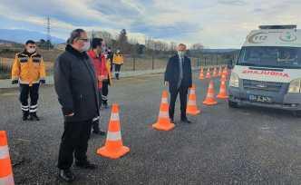 Ambulans Şoförlerine ASTE eğitimi