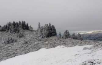 Dikmen Yaylası Kar Aralık 2020