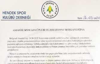 Hendekspor ASKF'ye Görüş Bildirdi