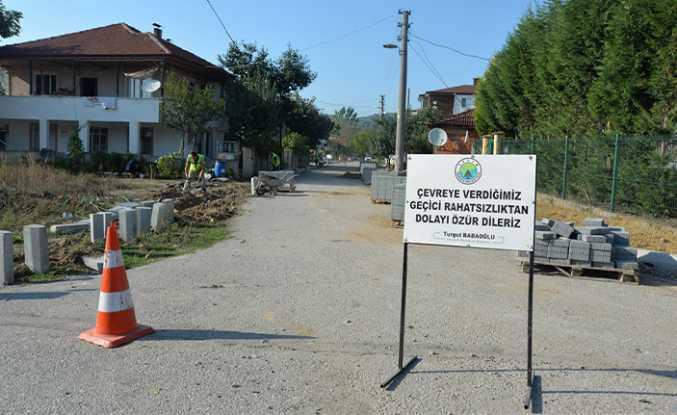 Hendek Sokakları Şantiye Gibi