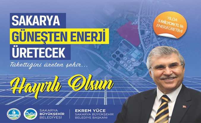 Güneşten Enerji Üretme Çalışmaları Başlıyor