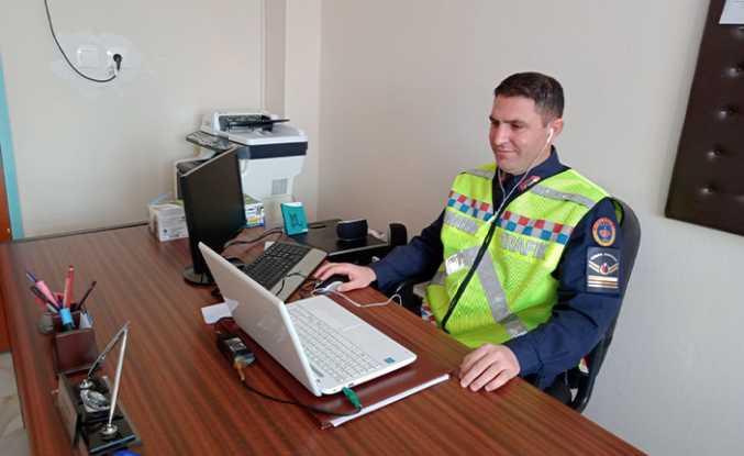 Jandarma'dan Trafik Semineri