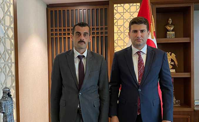 Sofuoğlu, Ülkü Ocakları Genel Başkanı Ahmet Yiğit Yıldırım'ı ziyaret etti