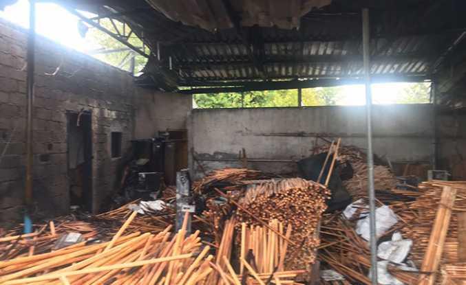 Hendek'te Yangın Paniği