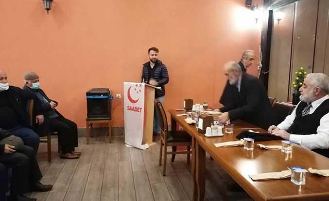 Saadet Partisi Ekim ayı Hendek  İlçe Divan Toplantısı Yapıldı