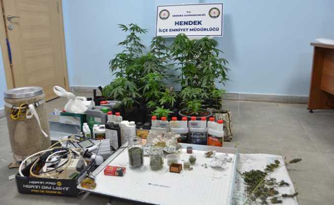 Uyuşturucu İmalathanesine Baskın