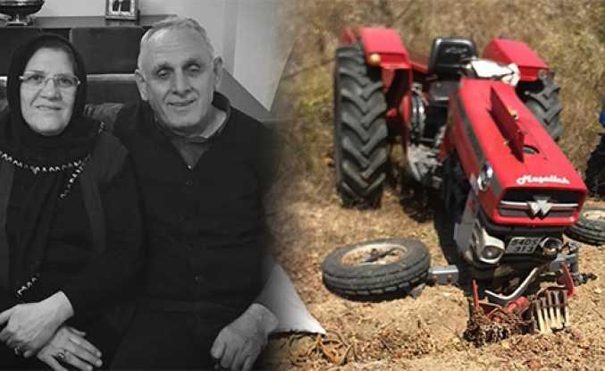 Hendek'te Traktör Devrildi 2 Ölü