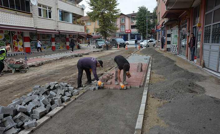 Beştepeler Caddesi Yenileniyor